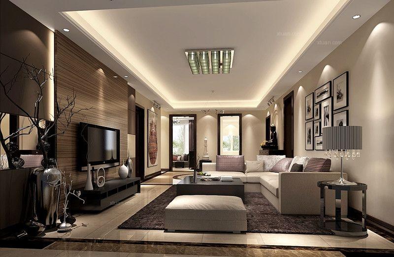 金科廊桥水岸200㎡现代风格公寓