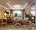 秦皇岛实创装饰150平三居欧式风格装修案例