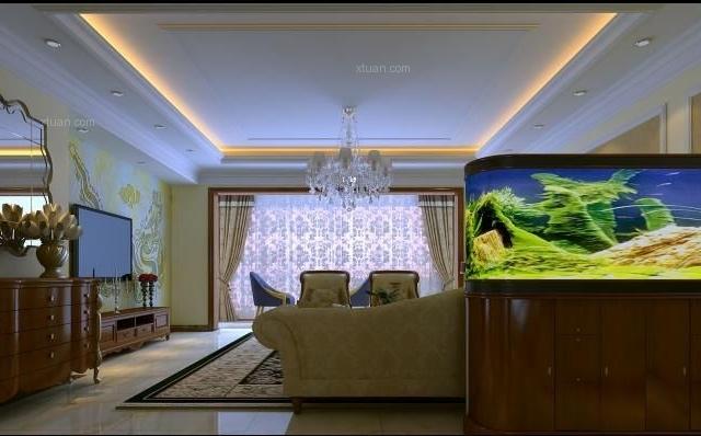昆明市中洲阳光210平方米现代风格户型19万元