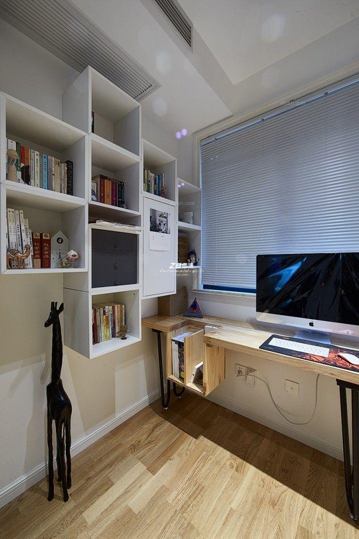 三居室北欧风格书房