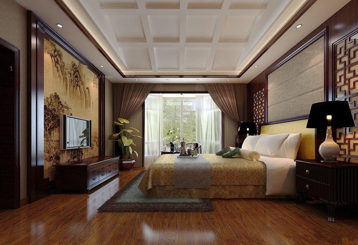 四合院中式风格卧室