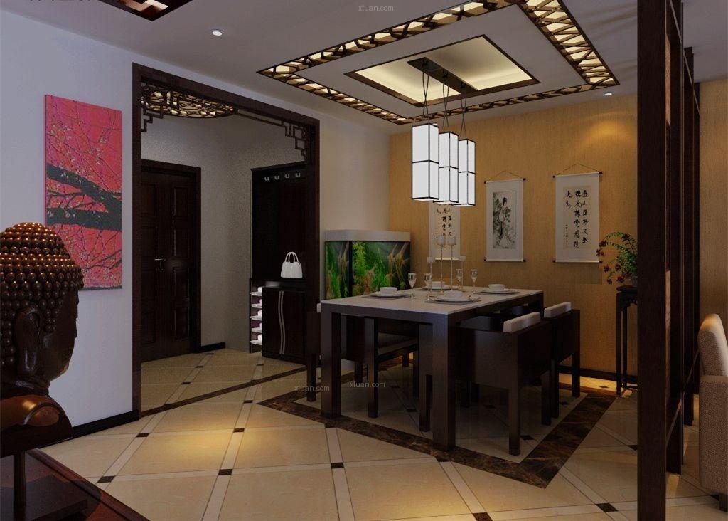 北京四合院设计流露中式唯美