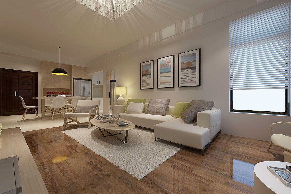 两室两厅北欧风格客厅
