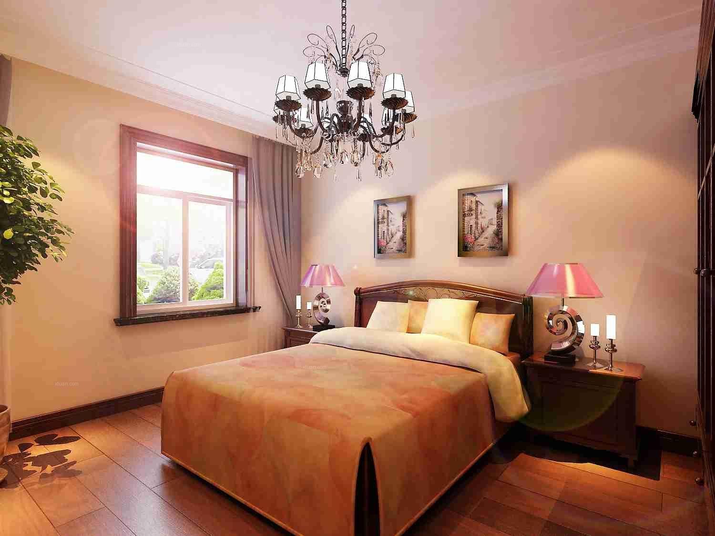 独栋别墅美式风格客厅图片