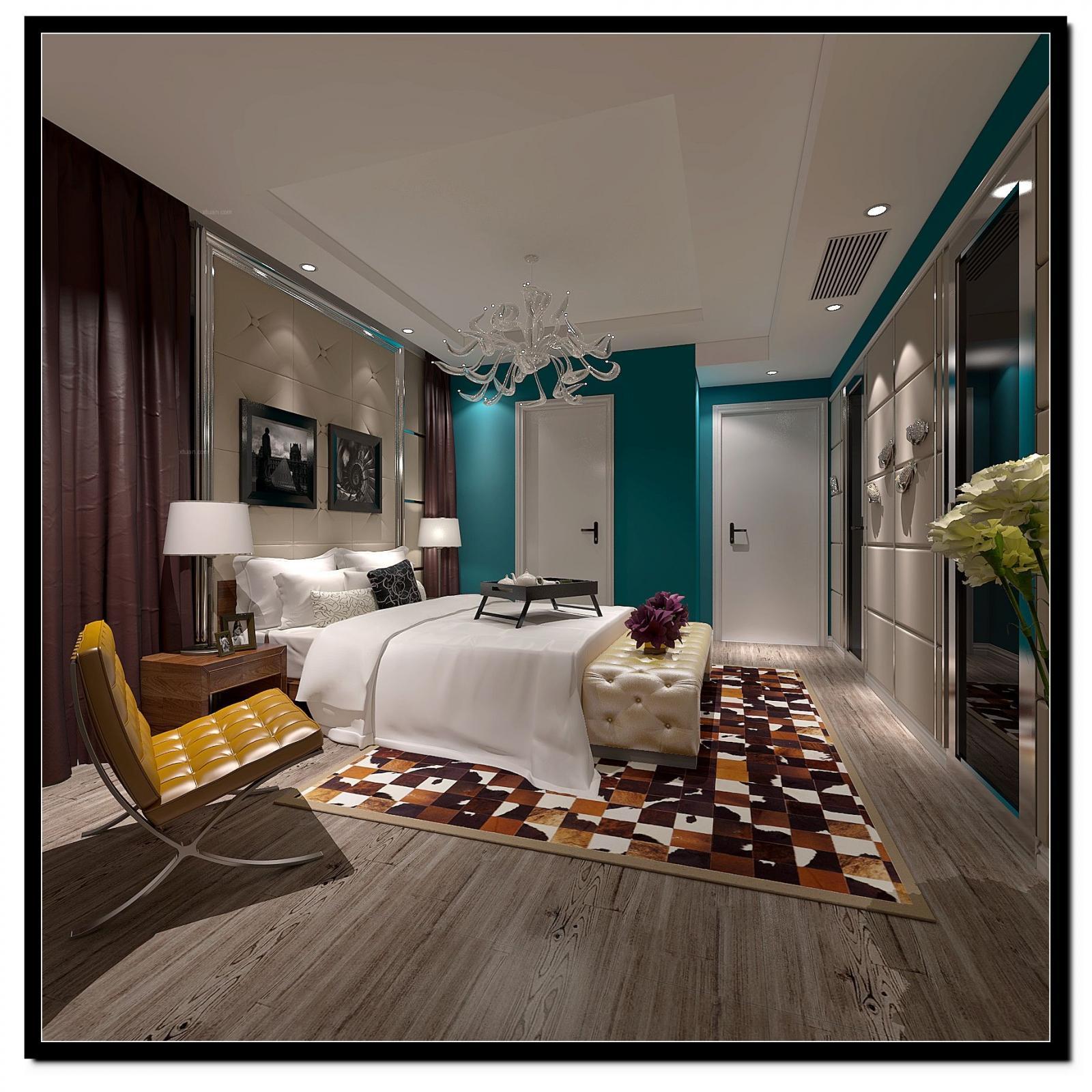 小户型欧式风格卧室图片
