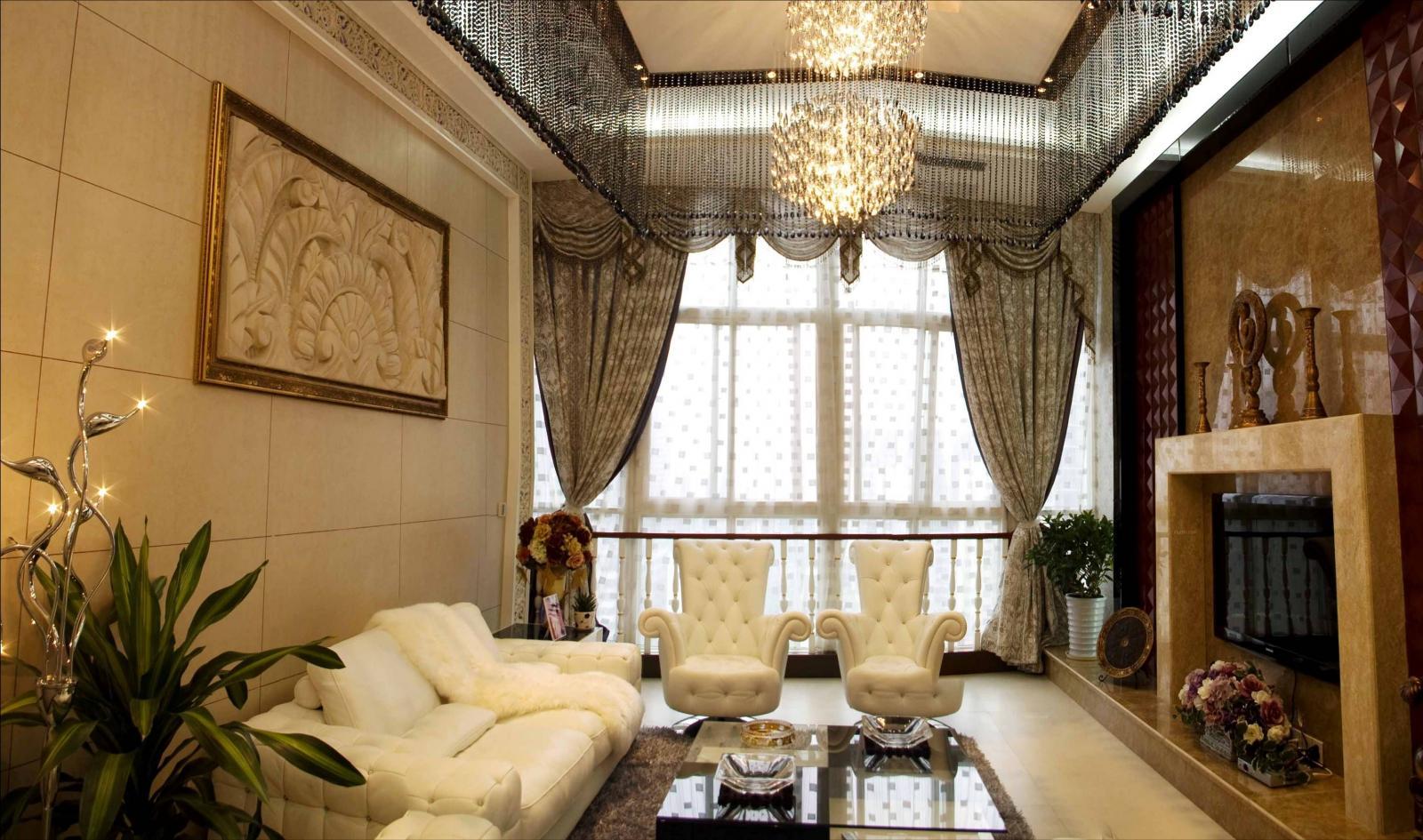 大户型欧式风格客厅图片