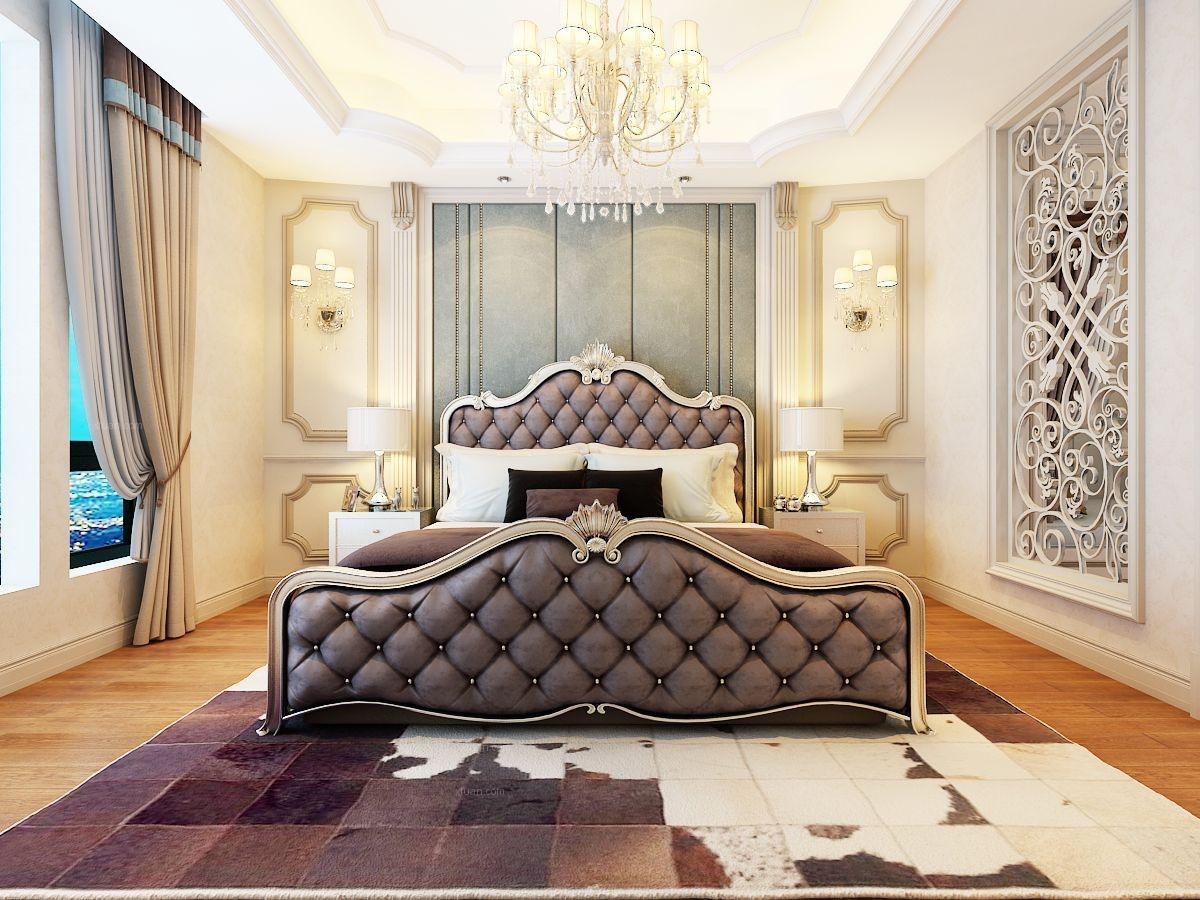 四居室欧式风格卧室图片