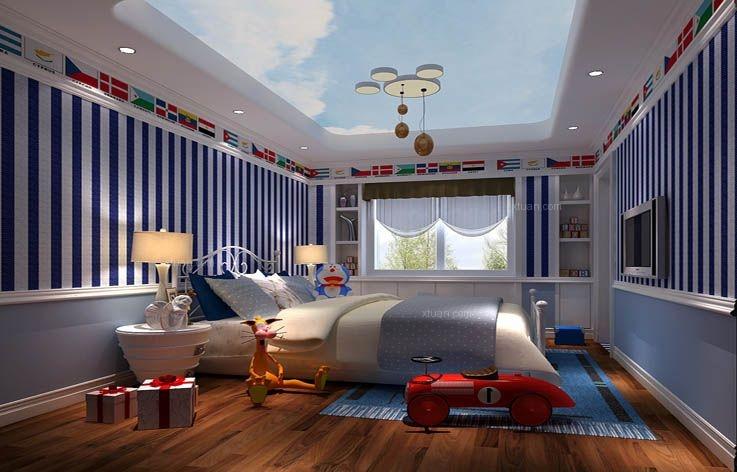 别墅欧式风格儿童房