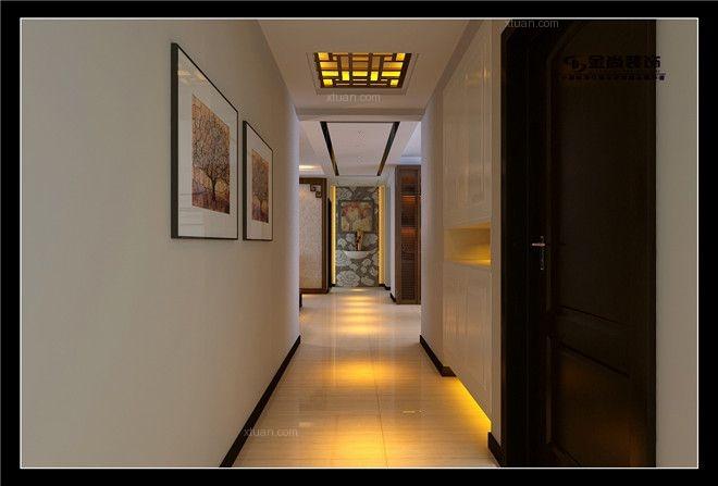 三居室中式风格玄关