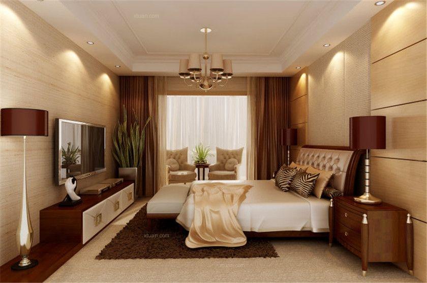 独栋别墅混搭风格卧室