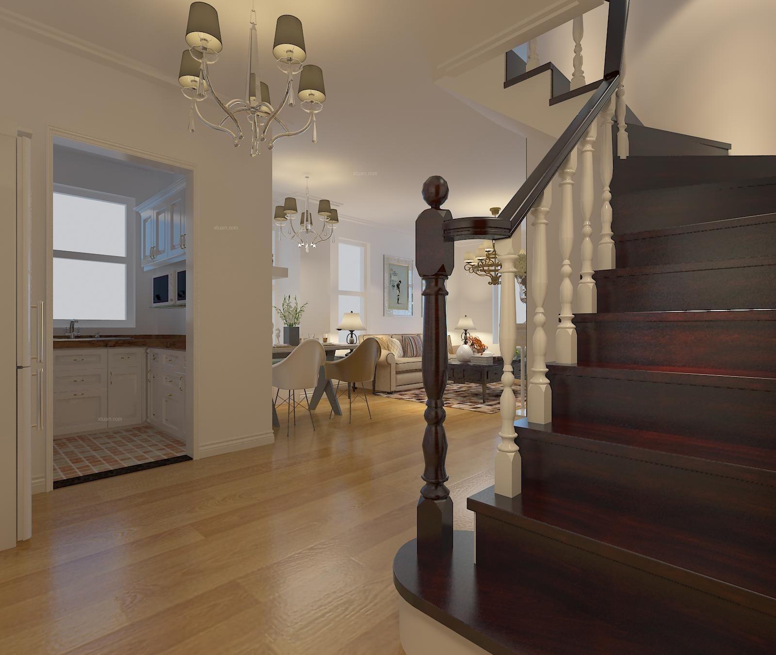 银亿格兰郡90平设计案例--现代温馨阁楼