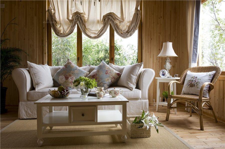 田园风格-温度小区自然温馨度假别墅