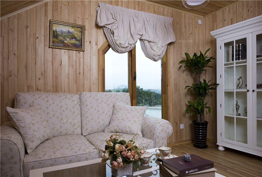 别墅乡村风格客厅