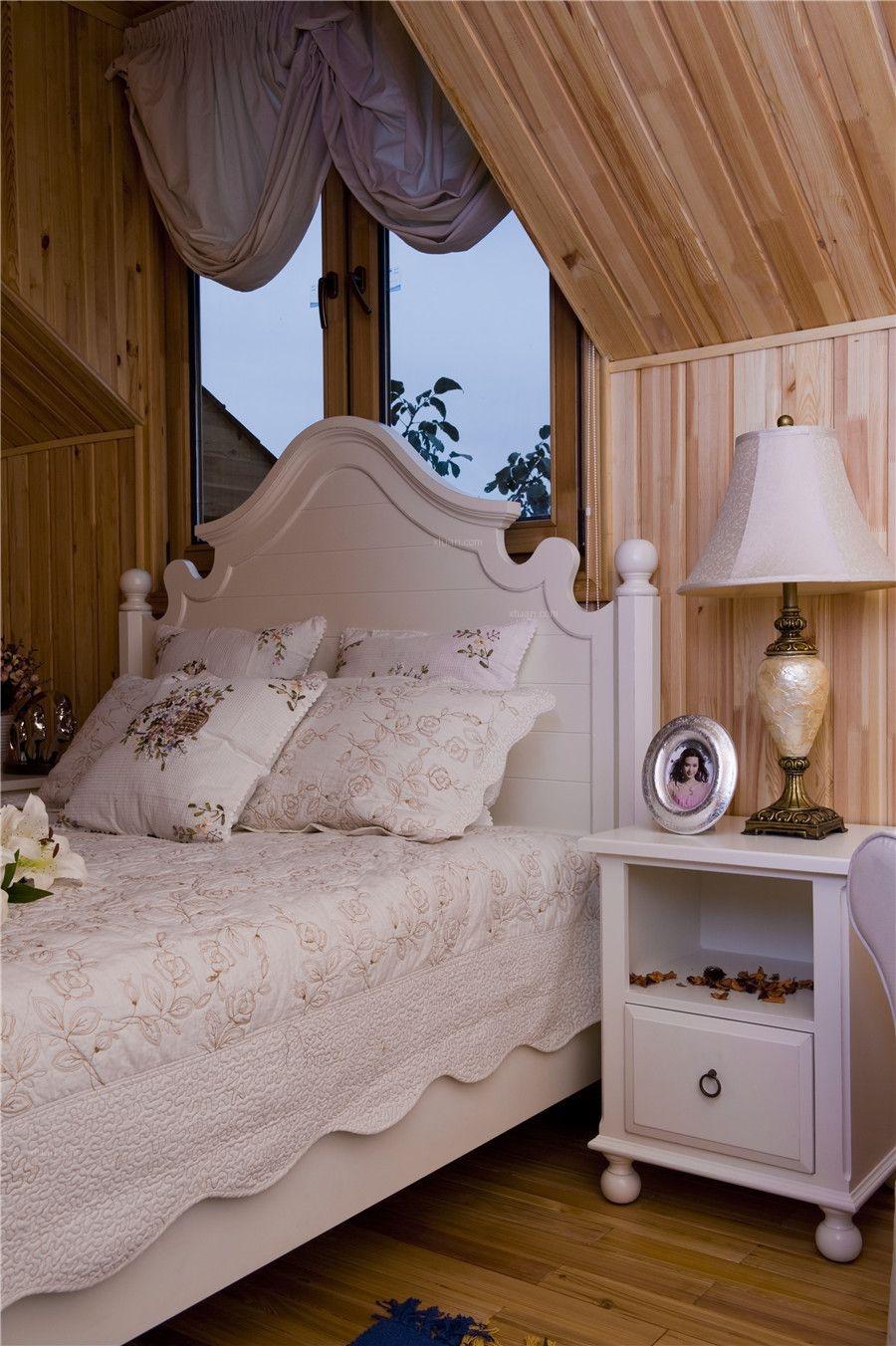 别墅乡村风格主卧室