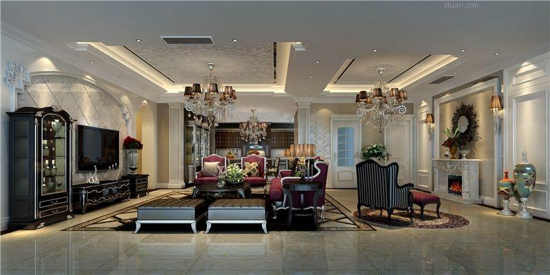 小户型新古典客厅