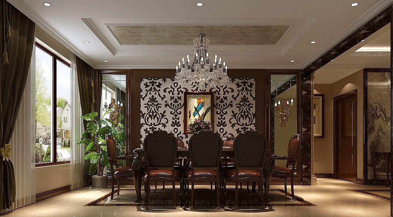 四居室混搭风格餐厅