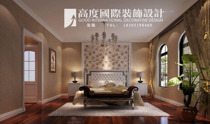 三室两厅简欧风格卧室