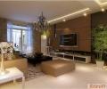 【合肥实创装饰】华邦光明世家95平米三居室现代简约风格装修