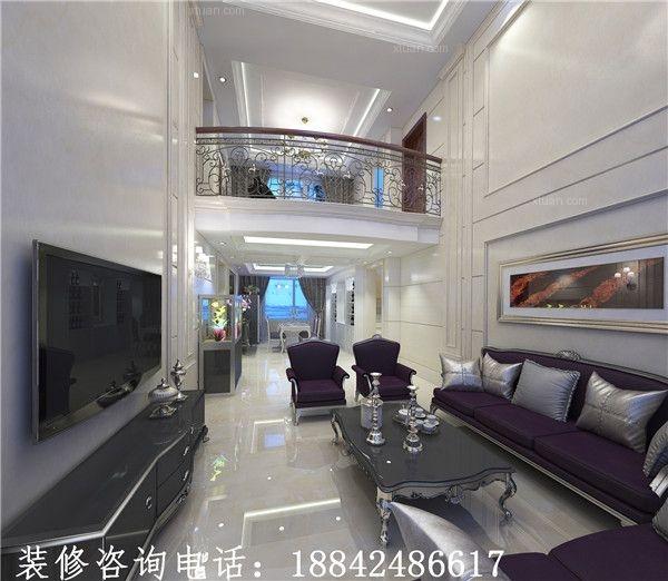 联排别墅新古典客厅