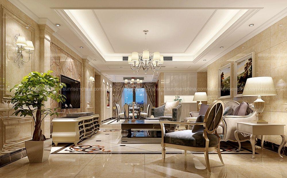 四居室客厅