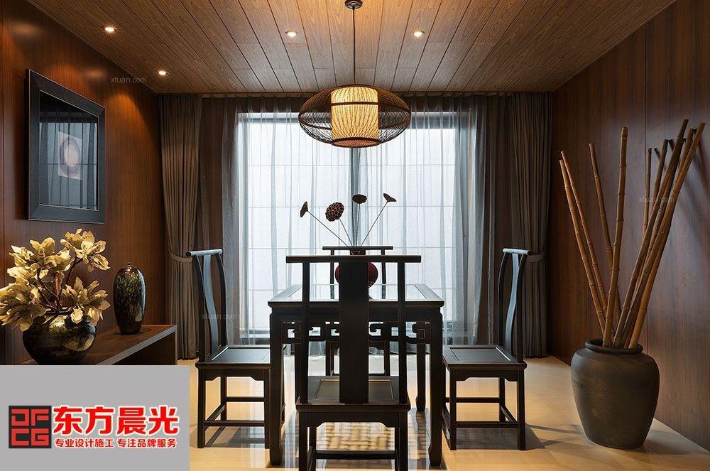 中式雅致四合院室内设计