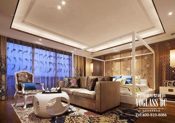 别墅欧式风格客厅