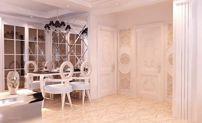两居室欧式风格餐厅