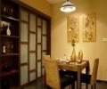 紫坪福园149平米东南亚风格三居