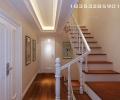 银盛泰德郡210平现代简约别墅装修案例|实创装饰