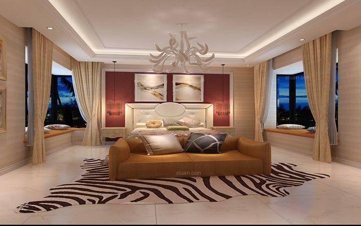 棕榈泉国际公寓新古典风格