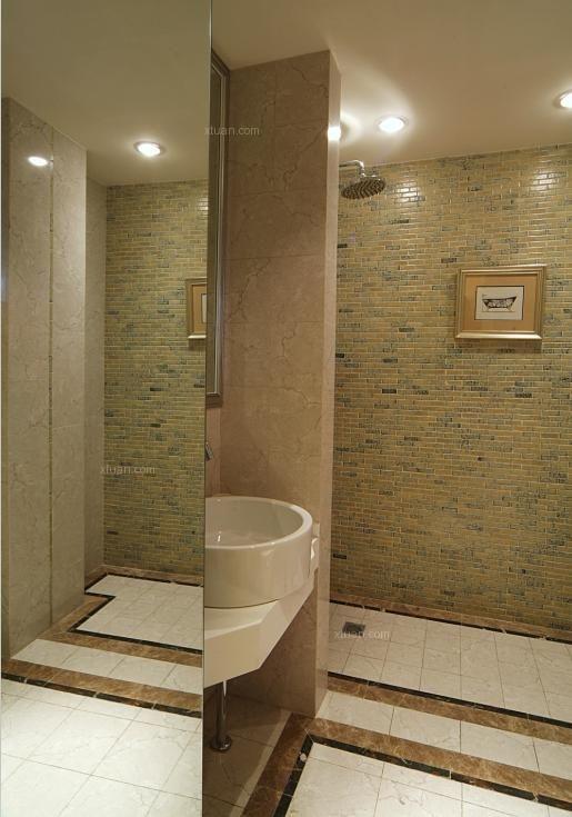 三室两厅欧式风格卫生间