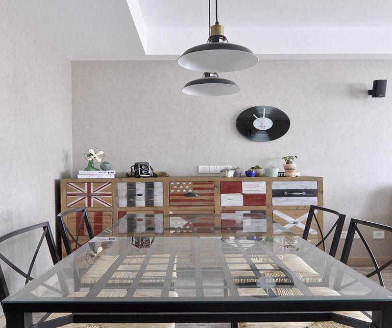 三居室现代简约餐厅