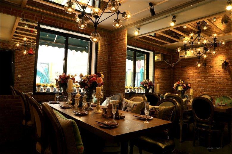 沈阳三经街鲜虾宴休闲主题餐厅设计装修效果图-x团