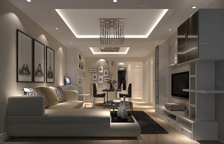 一室一厅现代风格客厅