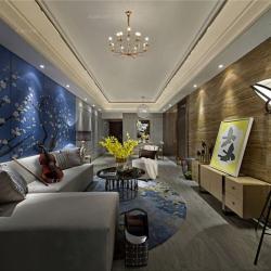 现代风格-鑫都汇·瑞公馆236四居装修效果图