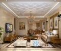 维多利亚300㎡欧式风格别墅装饰设计