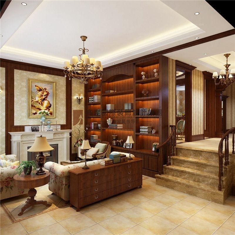 玉榕庄500平方排屋别墅美式风格/高度国际