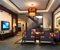 龙湖时代天街140㎡新中式公寓