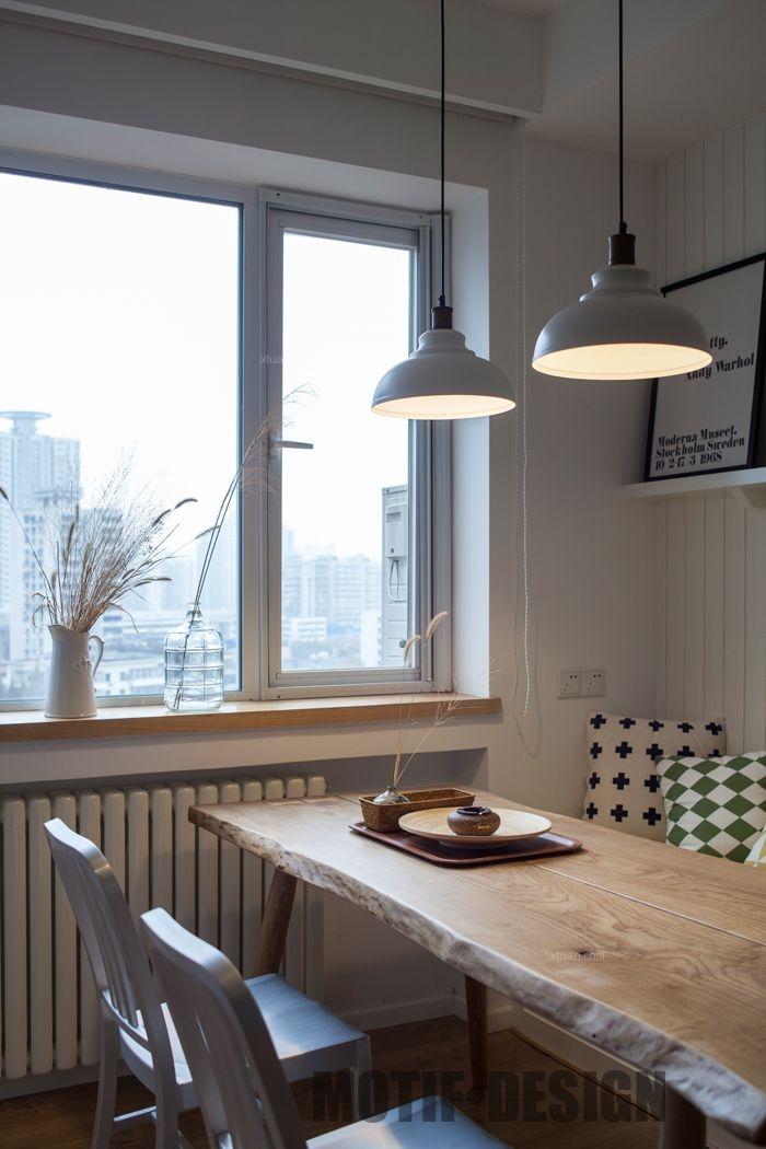 两居室北欧风格餐厅软装