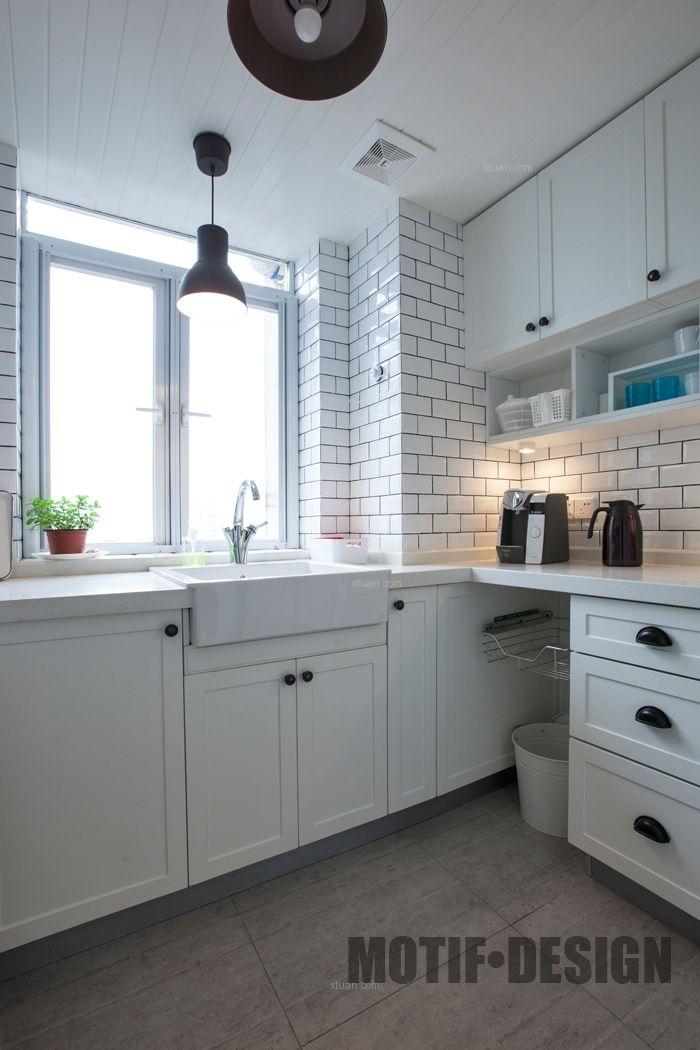 两居室北欧风格厨房厨具