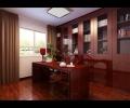 文景小区-经典中式大红的渲染