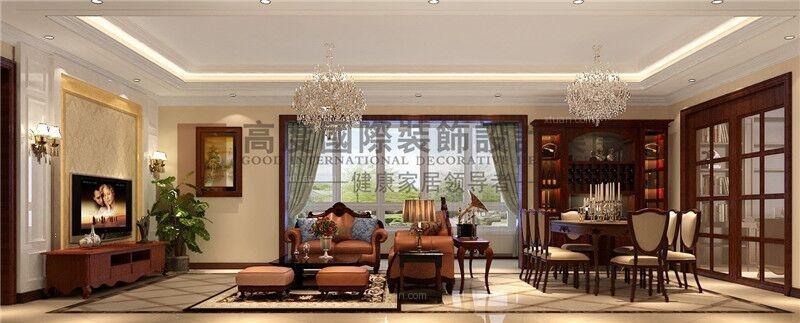 龙湖春江彼岸198平法式混搭风格/杭州高度国际