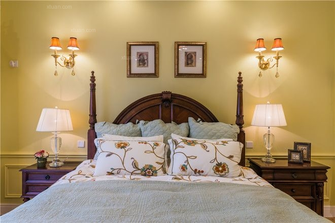 别墅欧式风格卧室