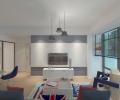 花果园王女士新家两室一厅简约风格的效果图