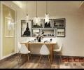 【实创装饰】顶琇国际城101平三居室现代风格全包