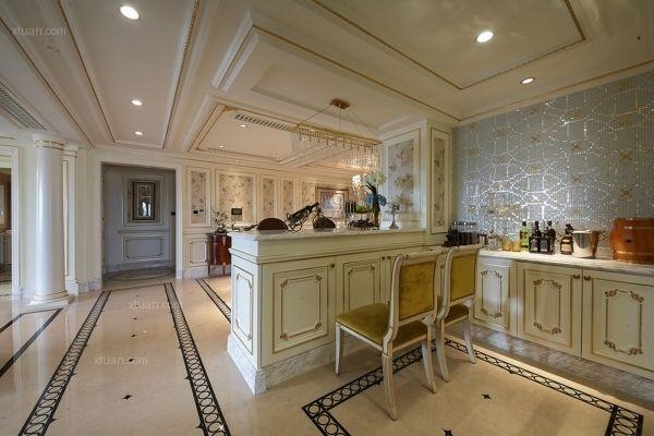 别墅法式风格厨房图片