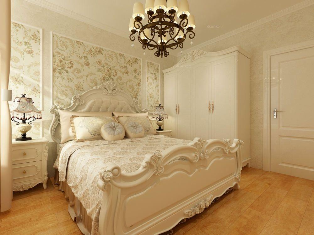 两室两厅简欧风格主卧室图片
