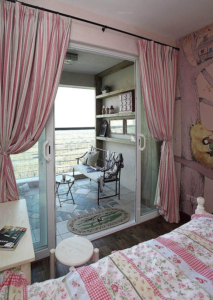 三居室乡村风格卧室