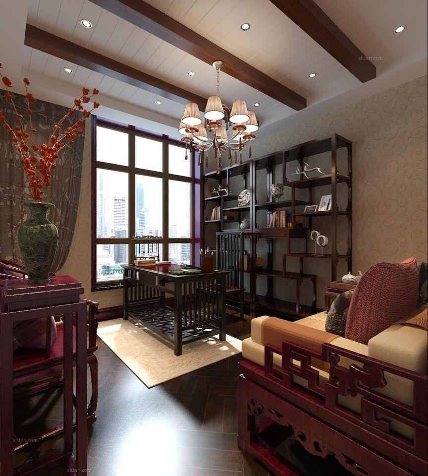 老洋房欧式风格书房图片