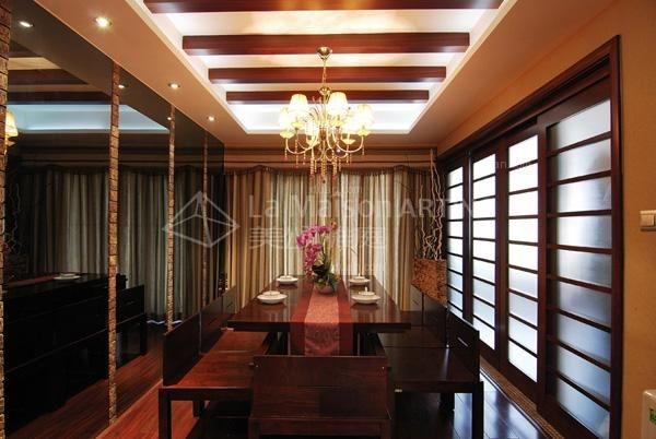 联排别墅中式风格餐厅
